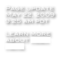 Page update May 22, 2009 9:25 am pdt  Learn more about Alex here