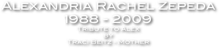Alexandria Rachel Zepeda 